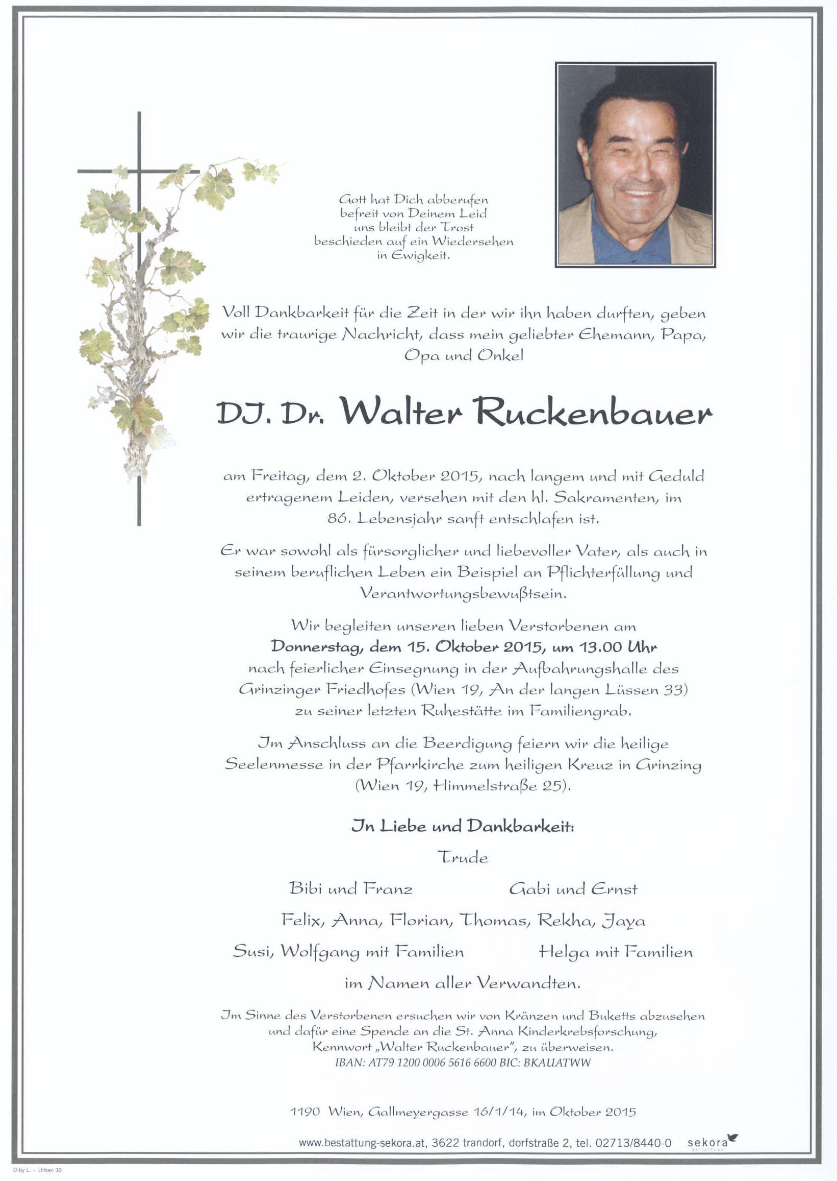 Ruckenbauer Walter