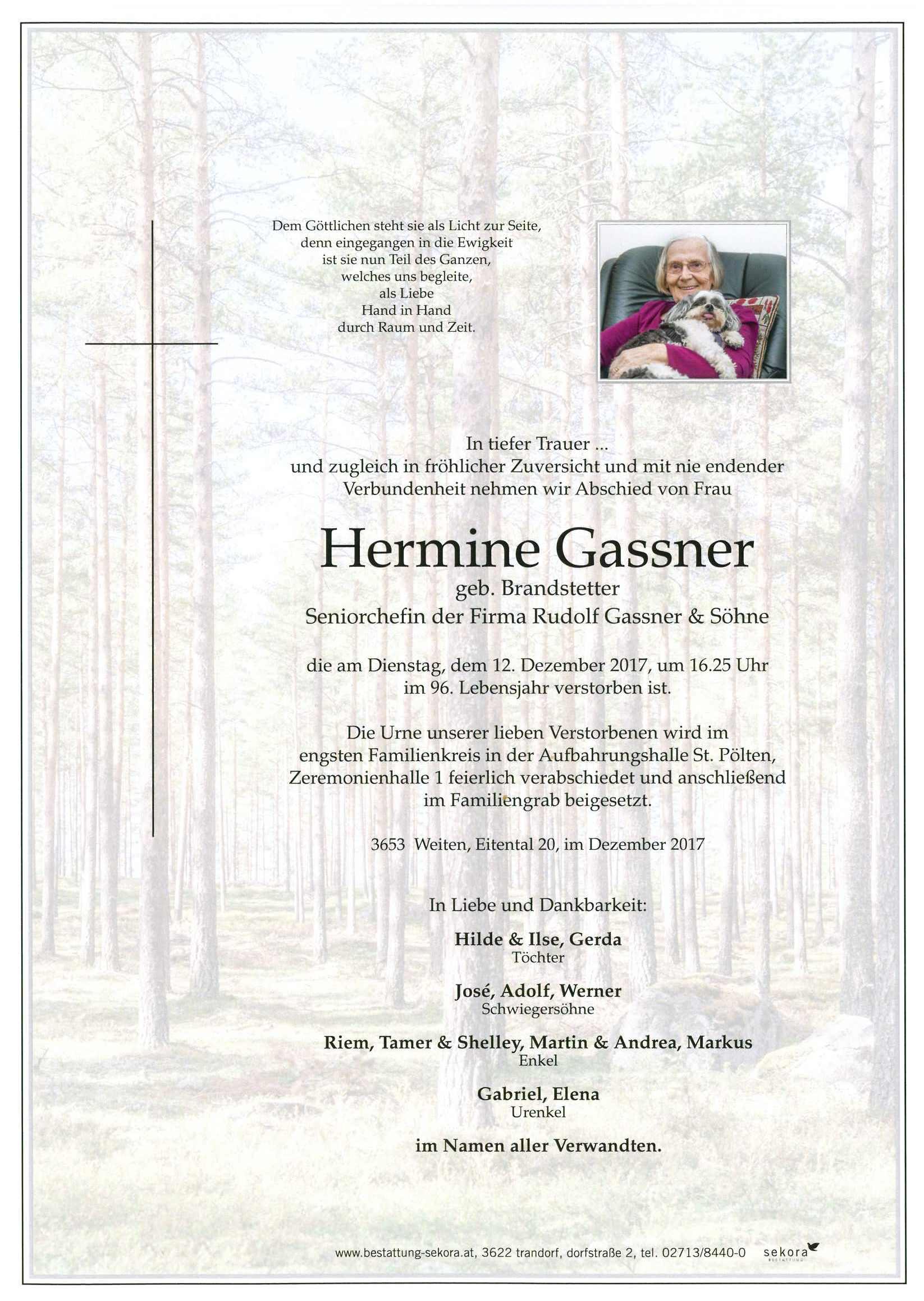 gassner hermine